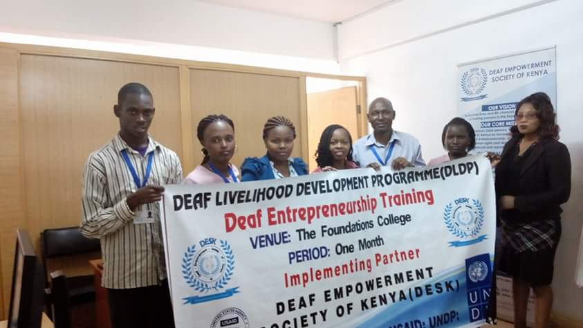 The Deaf Livelihood Development Program